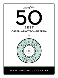 GC 50 vert Plaque one of Osteria enoteca mini