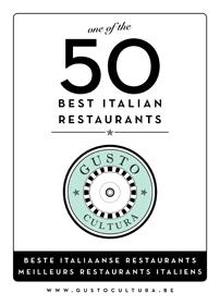 meilleurs restaurants italiens Belgique - beste Italiaanse restaurants België